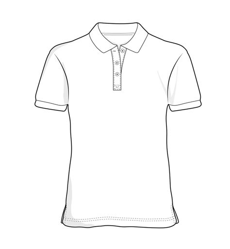 How To Draw A Tshirt Template
