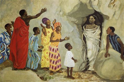 painting mafa worshiping with children year a fifth sunday in lent