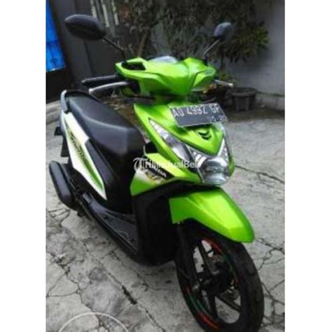 Honda Beat Hijau 2013 by Motor Honda Beat Fuel Injection Bekas Tahun 2013 Warna