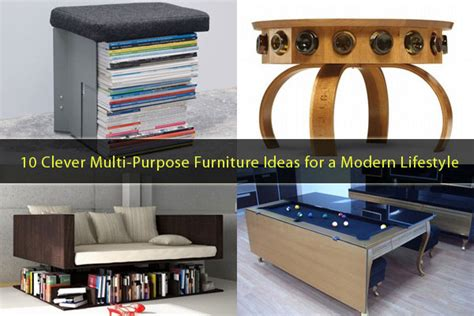 Clever Furniture by 10 Clever Multi Purpose Furniture Ideas Meeting The Needs