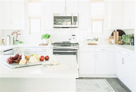 benjamin simply white cabinets benjamin simply white kitchen with clean lines