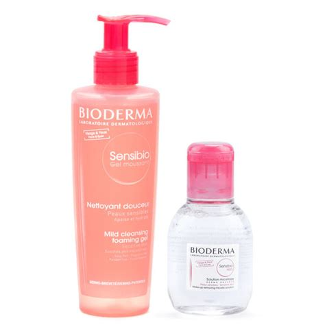 Sensibio Foaming Gel bioderma sensibio foaming gel 200 ml sensibio h2o 100 ml