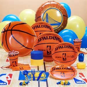 golden state warriors nba basketball party supplies