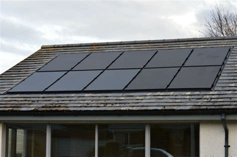 solar pannel roof in roof solar panels roof integrated flush fit solar mounting