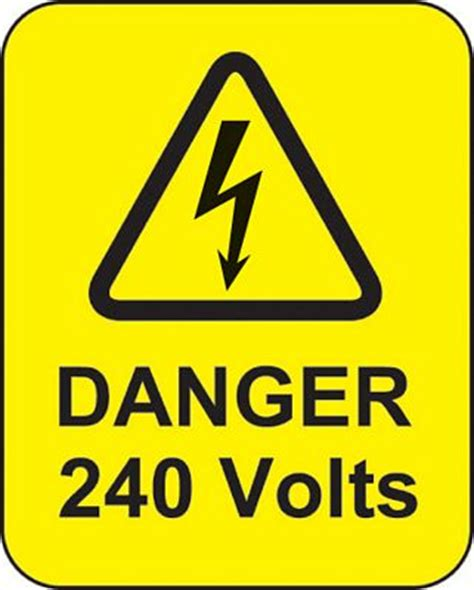 high voltage symbol clipart best