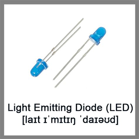 light emitting diode common uses basic electronics