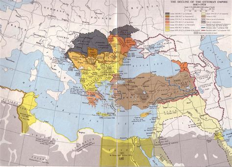 when was the fall of the ottoman empire name is the united kingdom of great britain and northern