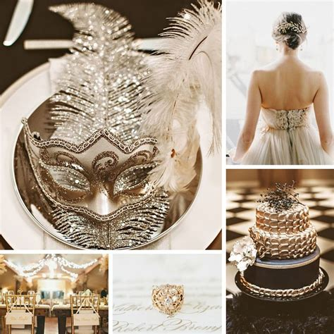 new years weddings glamorous new year s wedding ideas in black gold