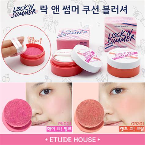 Etude Blush On makeup review lock n summer cushion blusher etude house