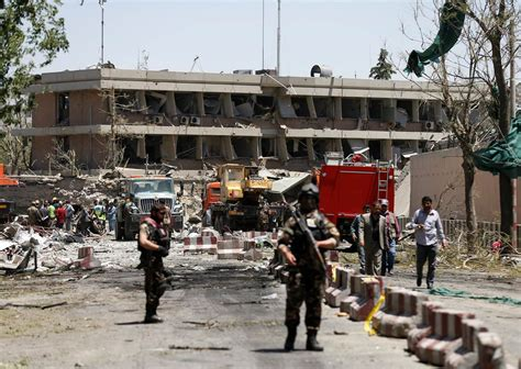 afghan news kabul bomb explosion near german embassy kills dozens