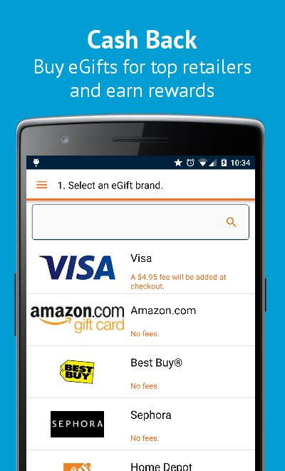 Visa Gift Cards Via Email - buy gift cards visa egifts android apps on google play