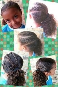 easy biracial hairstyles triple french braid side pony girls hairstyle easy