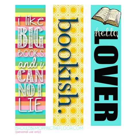 printable bookmarks cool coloring pages 5 best images of printable bookmarks