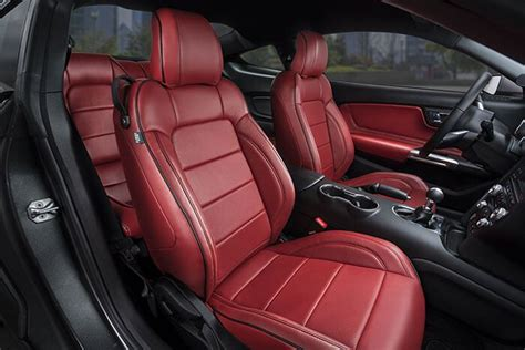 ford mustang leather seat covers ford mustang leather seats interiors seat covers katzkin