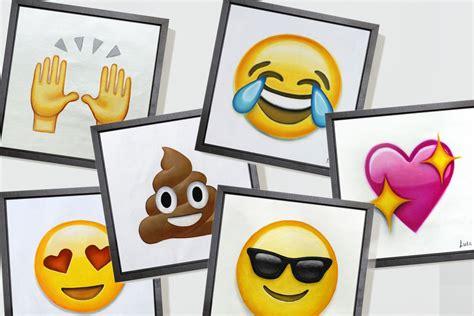 Painting Emoji by Emoji Paintings Are Artisanal As Heck