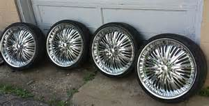 22 Inch Wheels Truck For Sale Elure Wheels Pre Owned Custom 22 Inch Chrome Rims