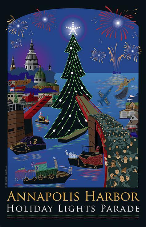 annapolis christmas lights annapolis lights parade by joe barsin