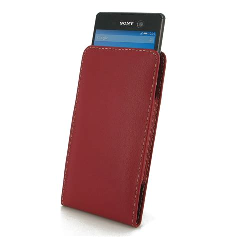 Sony Pouch Xperia M 1 sony xperia m5 leather sleeve pouch pdair flip wallet