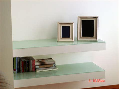 mensole in gesso foto mensole in cartongesso e cristallo di borocci marco