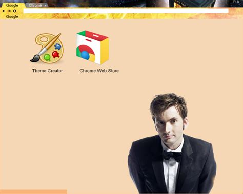 theme chrome doctor who frufru s haven doctor who chrome theme with david tennant
