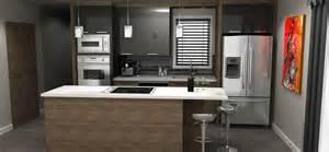 plan de cuisine en 3d