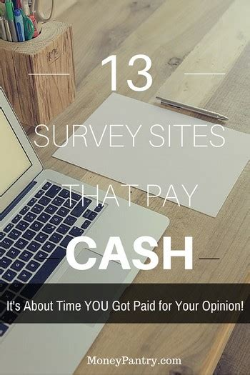 Survey Websites That Pay - 13 best survey sites that pay cash your turn to get paid moneypantry