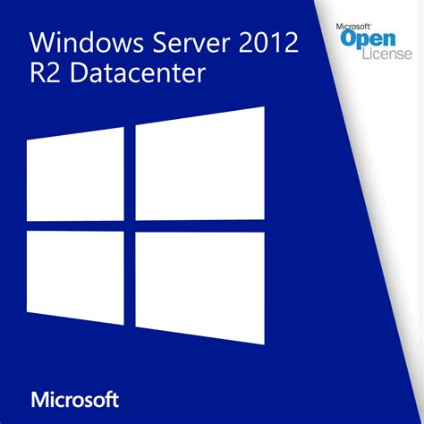 Microsoft Windows Server microsoft windows server 2012 r2 datacenter open license mychoicesoftware