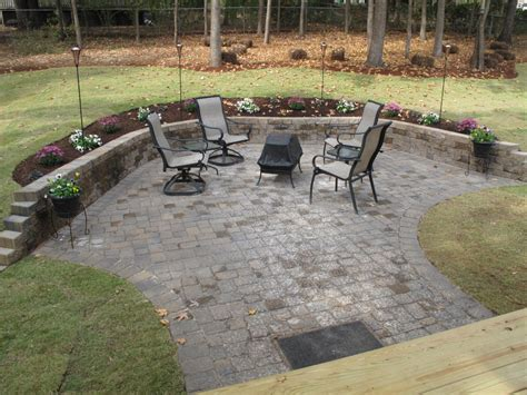 Backyard Patio Paver Designs Paving Designs For Patios