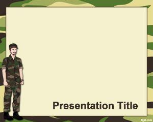 Military Powerpoint Template Army Powerpoint Templates