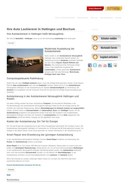 Auto Lackieren Bochum ihre auto lackiererei in hattingen und bochum