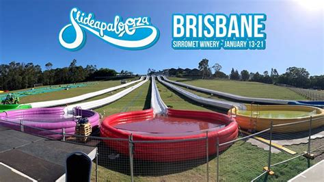 new year 2018 brisbane events slideapalooza brisbane 2018 183 13th 21st january 2018