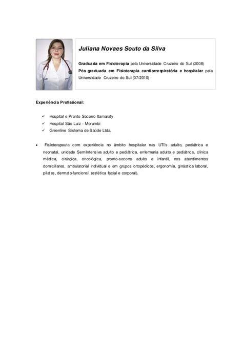 Modelo Curriculum Hospital Curriculo Para O Site Safe