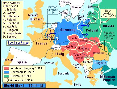 libro war map pictorial conflict map illustrating some of the major battles of wwi world