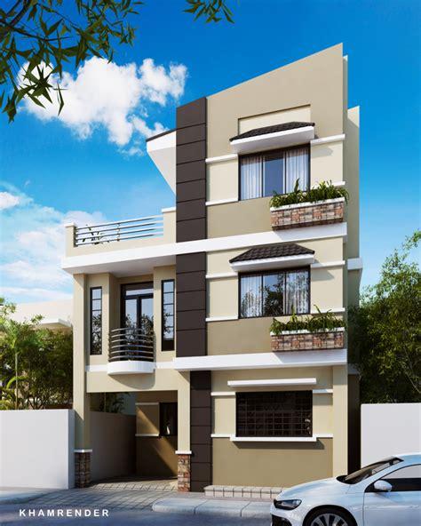 3 Storey House by 3 Storey House Plan Modern House