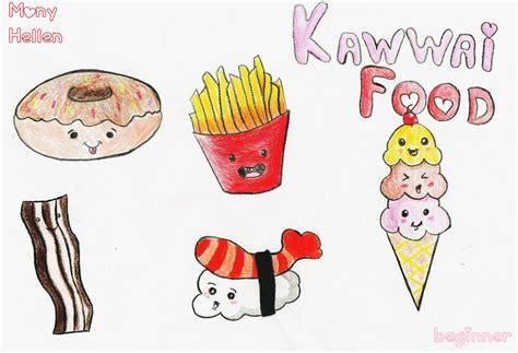 desenho kawaii kawaii food desenho by monyhellen on deviantart