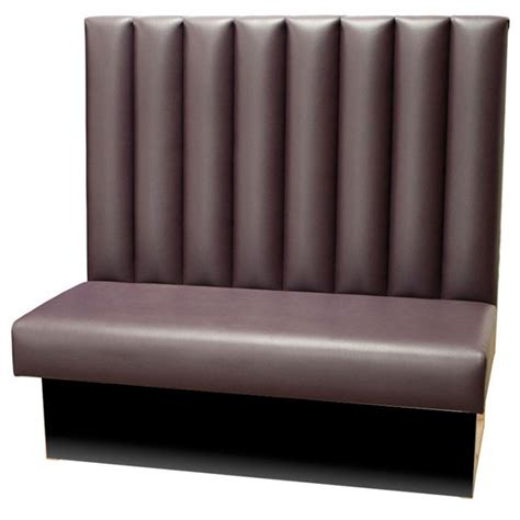 bar banquette seating fluted back banquette seating forest contract
