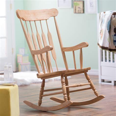 rocking chair belham living wood nursery rocker indoor