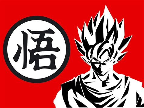 dragon ball kanji wallpaper dragon ball z goku wallpapers wallpaper cave