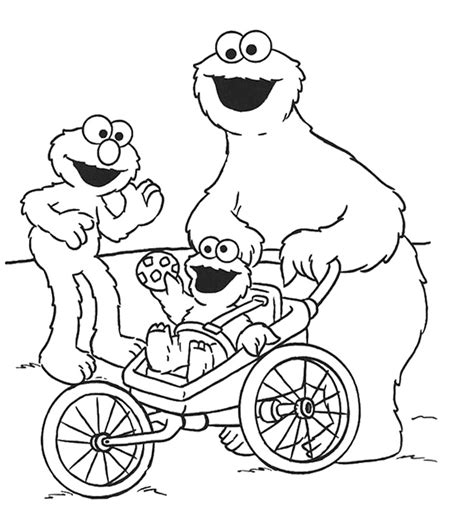 coloring pages elmo cookie monster cookie monster coloring pages az coloring pages