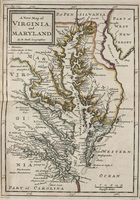 historical maps of maryland the voyage of sir walter raleigh