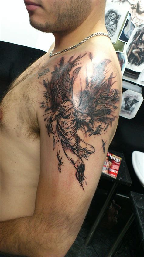 tattoo sale singapore my quot flying angel quot derek hess piece
