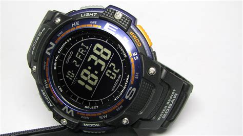 Casio Sgw100 2bdr casio s sgw 100 2bcf compass thermometer casio