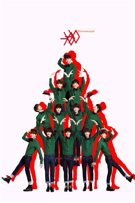 exo cartoon iphone wallpaper exo wallpaper for iphone wallpapersafari