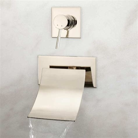 wall mounted bathtub fixtures how to fix wall mount bathtub faucet the homy design