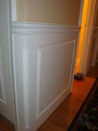 Wainscoting Outside Corner Mitre Contracting Inc Mouldings