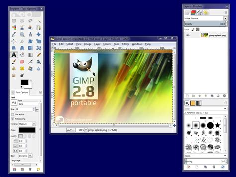 gimp creating images gimp portable portableapps com portable software for