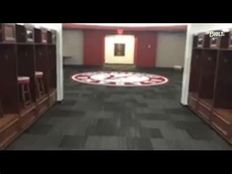alabama football locker room tour the alabama football locker room