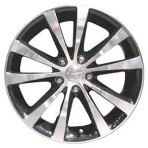 2011 Chrysler 200 Bolt Pattern 2011 2013 Chrysler 200 Wheels Polished Black 18 Quot Rims 2432