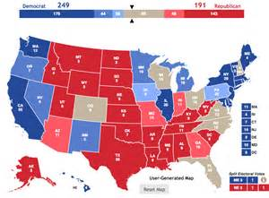 us map and blue states 2015 2016 election map here s how many points each state gets
