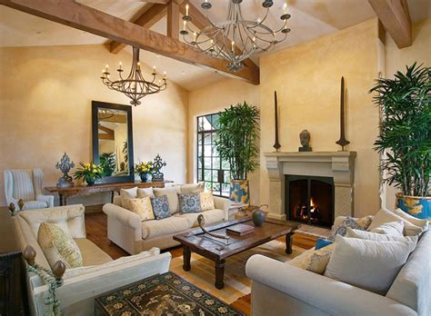 Custom Home Interior Design by Andalusian Custom Home Traditional Living Room Other